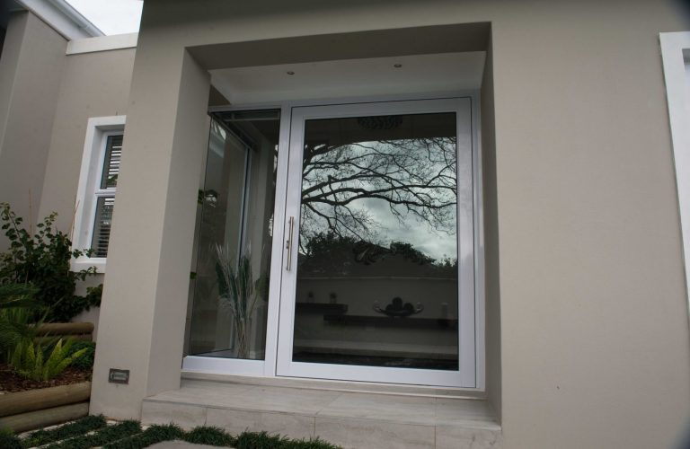 Hinged Pivot Aluminium Door